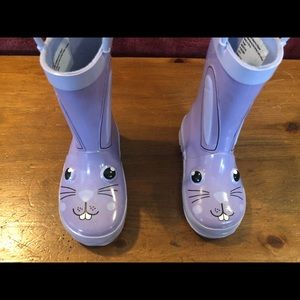 NWOT Bunny rubber boots